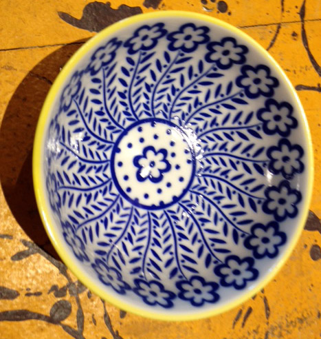Flower Pattern - bowl
