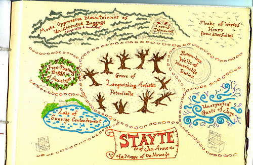 """State of mind"" map from 2008."